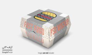 فایل موکاپ بسته بندی محصولات غذایی