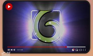 پروژه افترافکت لوگوموشن dark light logo reveal