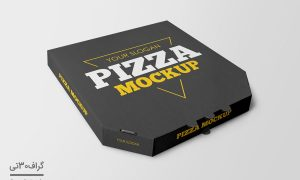 فایل موکاپ جعبه پیتزا
