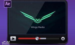 پروژه لوگوموشن تکنولوژی technology cyber logo