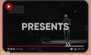 پروژه نمایش ویدیویی Stomp Typography