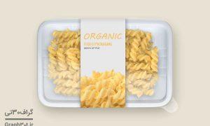 موکاپ بسته بندی پلاستیکی مواد غذایی